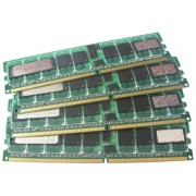Hypertec HYMNC2602G - Kit di memoria registrata equivalente NEC, 2 GB DIMM PC2100 4 X