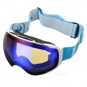 SEA AGRADABLE SNOW4200 anti-vaho gafas de lente esferica de esqui - Blanco
