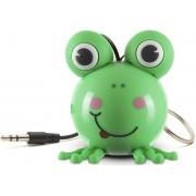 Boxa Portabila KitSound MyDoodle Characters Frog, Jack 3.5mm (Verde)