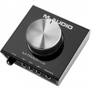 M-Audio M-Track Hub, Interface de Áudio Compacta, Usb