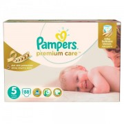Scutece Premium Care 5 Mega Box, 88 buc, Pampers