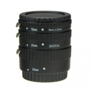 Micnova KK-S68 set tuburi extensie (inele macro - 12mm, 20mm, 36mm) pentru Sony