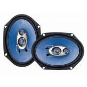 """Pyle PL683BL Sistema de altavoces 360 vatios, 4-way (6"""" x 8"""") azul"""