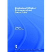 Distributional Effects of Environmental and Energy Policy by Don Fullerton