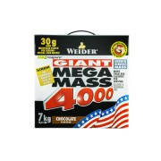 Weider Mega Mass 4000 Strawberry 7,0kg