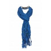 Hippe Sjaal blauw met Peace tekens