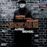 Haydn/Mozart - Piano Sonata/ Concerto (0028947571858) (2 CD)
