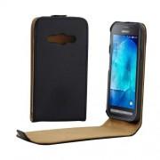 Husa Flip Vertical Samsung Galaxy Xcover 3 SM-G388F Neagra