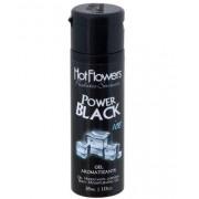 Gel Aromatizante Iced Power Black para sexo oral - HFHC337