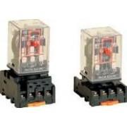 Releu industrial - 24V AC / 2xCO, (3A, 230V AC / 28V DC) RM08-24AC - Tracon