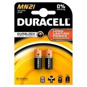 Pile Duracell Specialistiche - cilindrica 12 volt - MN21 (conf.2) - 069032 - Duracell