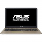 "Notebook Asus X540LJ, 15.6"" HD, Intel Core i3-5005U, GT920M-2GB, RAM 4GB, HDD 500GB, Free DOS, Negru"
