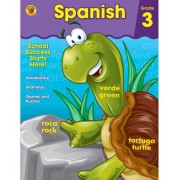 Spanish Workbook, Grade 3 by Brighter Child