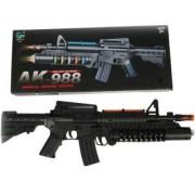 Electronic Army Machine Gun/ Grenade Launcher Style AK-998