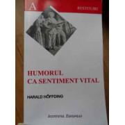 Humorul Ca Sentiment Vital - Harald Hoffding