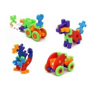 Little Treasures 48-Pcs Building Blocks Puzzle Set Is an Advanced Way to Assemble Amazing Creations!