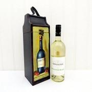 Fine Food Store Vettore vino Tipple di lusso con il Monastier vino bianco
