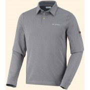 Columbia Pulóver Fields of Grey (TM) Long Sleeve Polo