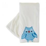 The Little Acorn Funny Friends Owl Blanket F13B05