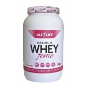 Suplemento Maximum Whey Protein Feme (900g) - All Life Nutry [VENCIMENTO 11/2016]