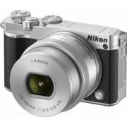 Aparat Foto Mirrorless Nikon 1 J5 Kit NIKKOR VR 10-30mm f3.5-5.6 PD-ZOOM Silver