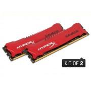 Hyperx Savage Hx321c11srk2/16 Memoria Desktop Gamer, Ddr3, 16gb, Kit(2x8gb)