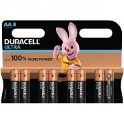 Duracell Ultra Power AA Pack von 8 (MX1500B8)