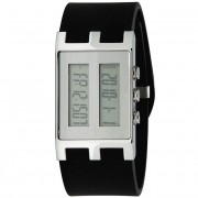 EOS New York Binary NU Watch Black/Silver 120SBLKSIL