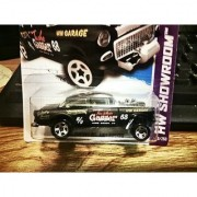 2013 55 Chevy Bel Air Gasser Black HW Showroom 190-250