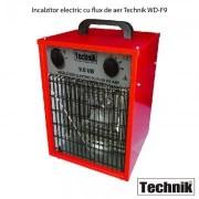 Incalzitor electric cu flux de aer Technik WD-F9