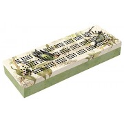 Tropical Birds Cribbage Board