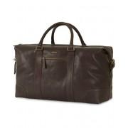 Morris Leather Weekendbag Dark Brown