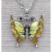 ketting vlinder hanger 0268