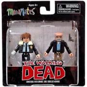 The Walking Dead Minimates Series 6 Minifigure 2-Pack Constable Rick Grimes & Douglas Monroe