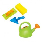 Hape Master Bricklayer and Watering Can Set Green