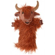 Papusa de mana stil manusa Vaca Scotiana - The Puppet Company