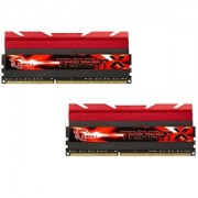Memorie G.Skill TridentX 16GB (2x8GB) DDR3 PC3-19200 CL10 1.65V 2400MHz Intel Z97 Ready XMP 1.3 Dual Channel Kit, F3-2400C10D-16GTX