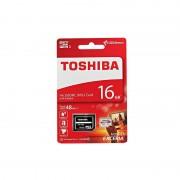 Card Toshiba microSDHC 16GB Clasa 10 cu adaptor SD