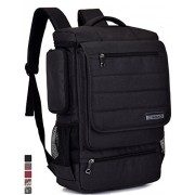 Laptop Backpack ,BRINCH(TM) Multifunctional Unisex Luggage & Travel Bags Knapsack,rucksack Backpack Hiking Bags Students School Shoulder Backpacks Fits Up to 17 Inch Laptop Macbook Computer,Black