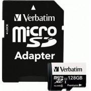 Verbatim 128 GB PremiumPlus 533X microSDXC Memory Card with Adapter UHS-I Class 10 99142