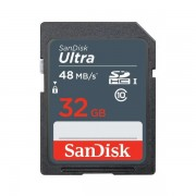Sandisk Ultra SDSDUNB-032G-GN3IN Tarjeta SDHC 32GB Clase 10 UHS-I 48MB/s