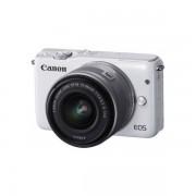 Aparat foto Mirrorless Canon EOS M10 18 Mpx White Kit EF-M 15-45mm IS