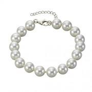 ZEEme 360260093 - Bracciale da donna, argento sterling 925, 200 mm
