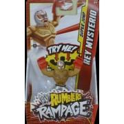 REY MYSTERIO - WWE RUMBLERS RAMPAGE MATTEL TOY WRESTLING ACTION FIGURE
