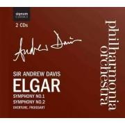 E. Elgar - Sinfonien 1 & 2/Froissart-Ouvert re (0635212017920) (2 CD)