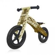 B-Happy bicicleta din lemn 09 Army (camuflaj)