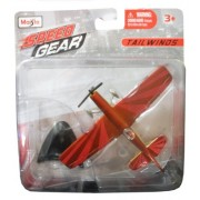 Maisto Speed Tailwinds Gear Red Stunt Plane