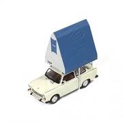Models Ist - Ist 188 - miniatura veicolo - modello per la scala - Trabant 601 - con il tetto della tenda - Scala 1/43