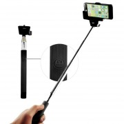 Selfie stick Z07-5 - Monopod extensibil cu telecomanda bluetooth (Negru)