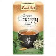 YOGI TEA (herbatki) HERBATKA ZIELONA ENERGIA BIO (17 x 1,8 g) - YOGI TEA
